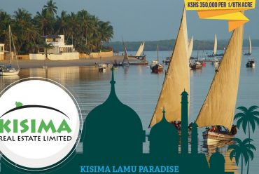 Land for sale in Lamu – Kisima Lamu Paradise