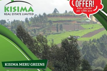 Land for sale in Meru – Kisima Meru Greens